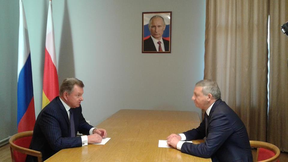 Полпред в СКФО Олег Белавенцев прибыл с рабочим визитом в Северную Осетию