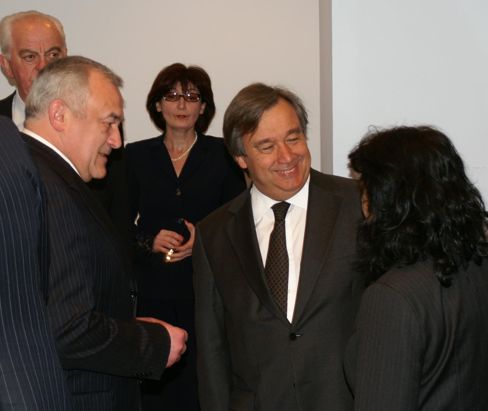 Мамсуров поздравил нового генсека ООН