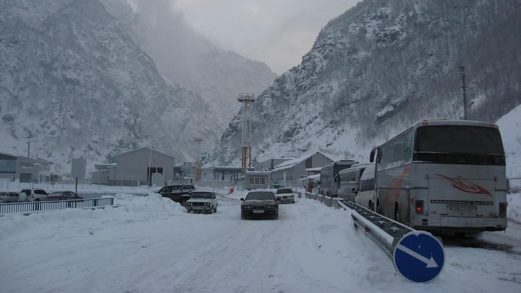 Дорога в Грузию закрыта