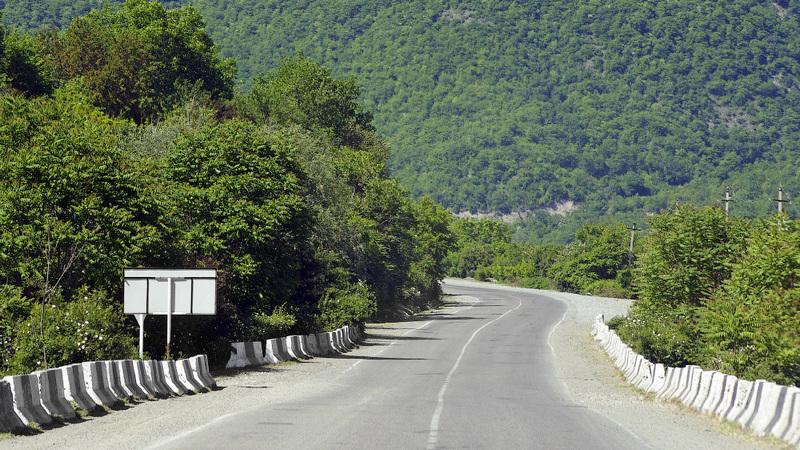 Военно-Грузинская дорога работает сограничениями